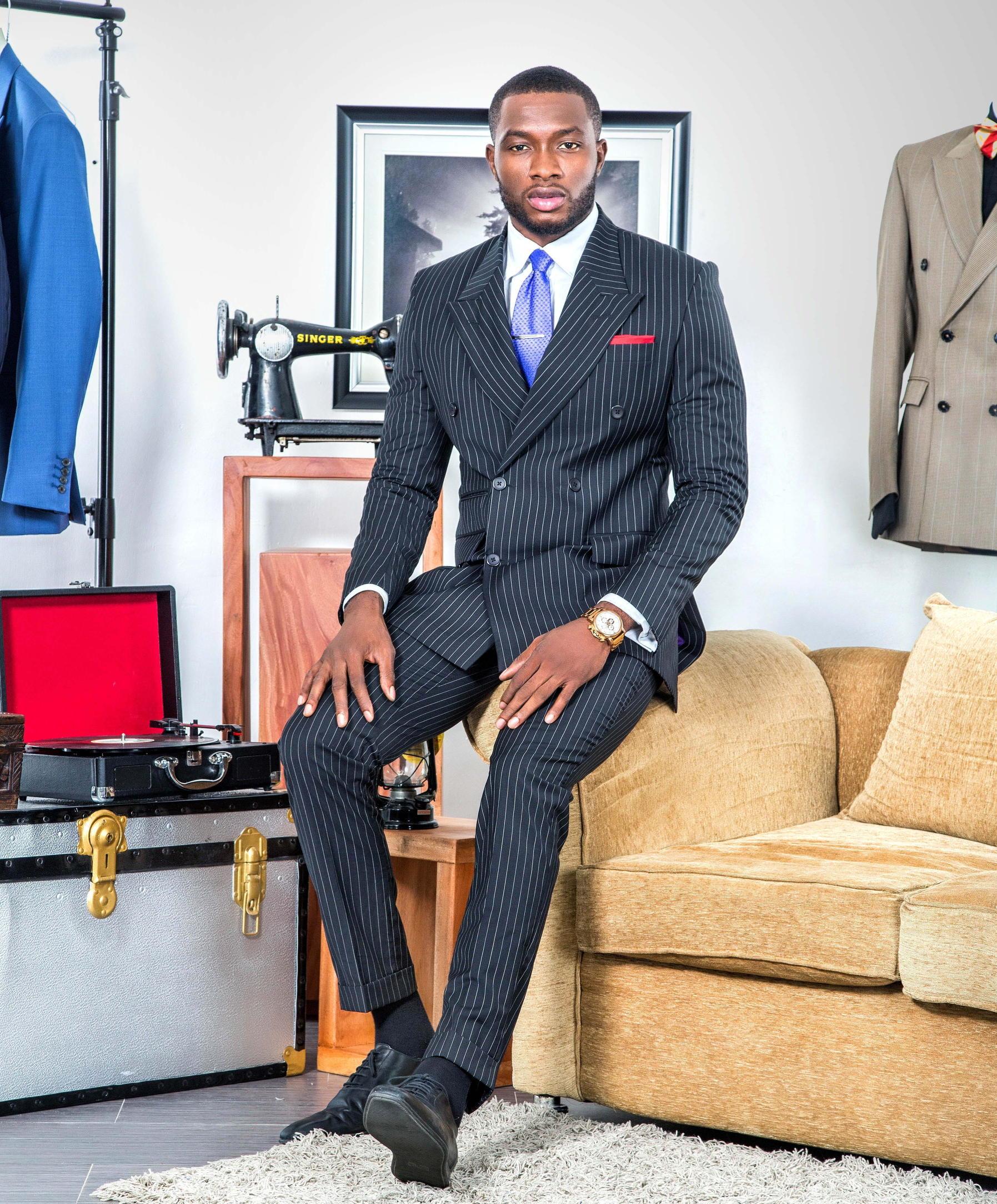 A Man and His Suits |  Bosi and Charles  #mgHomeGrown