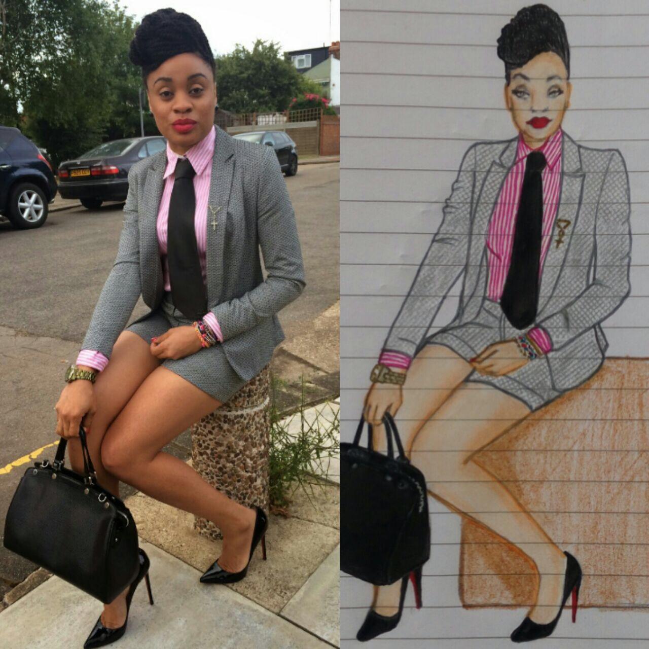 #HauteyOfTheWeek #Illustrator #Wifey #Mummy | @Neonanjel