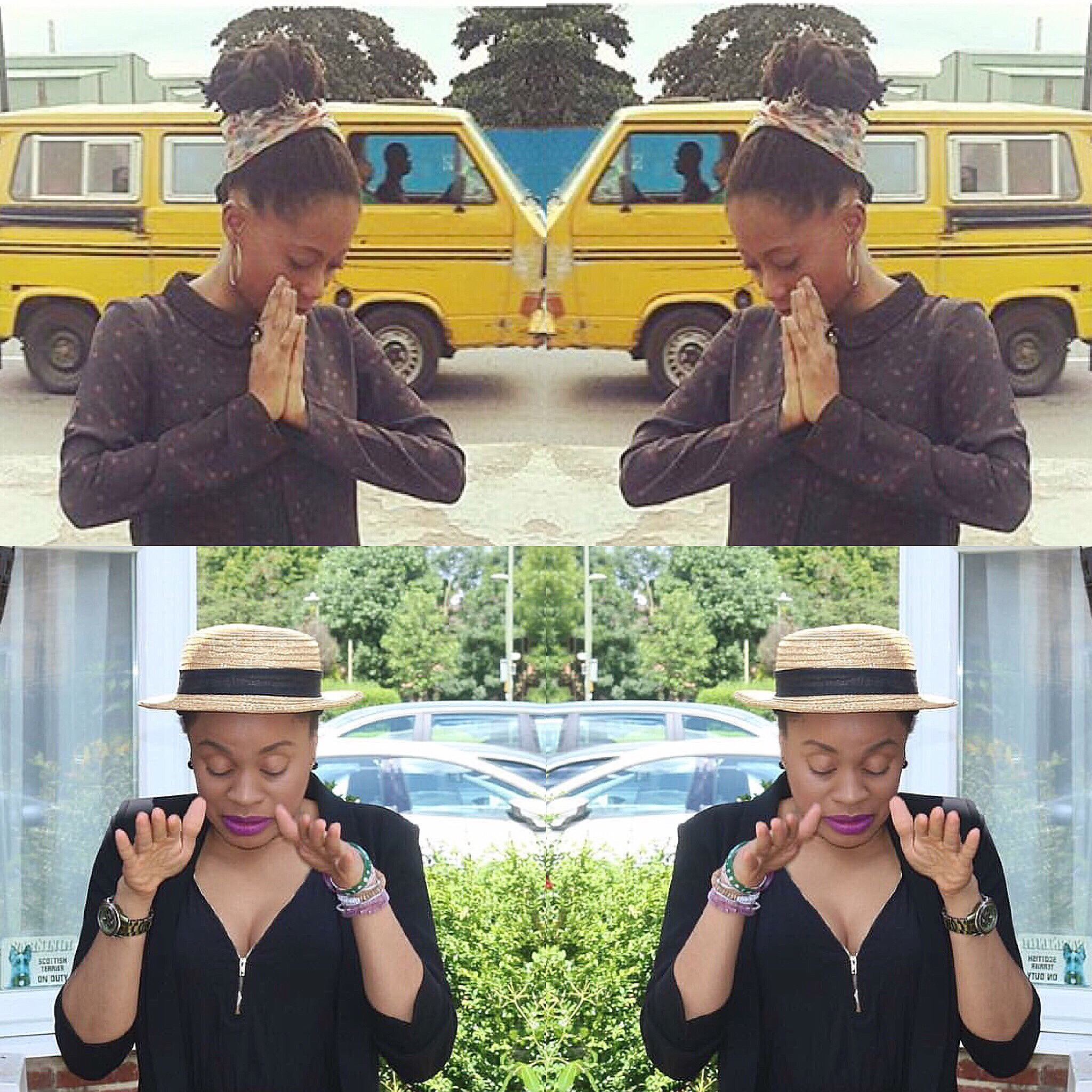 Rocking Black to Work with @Tosynbucknor |#TMHowTo #Collabo