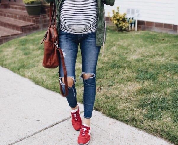 Pregnancy Style Inspiration...friends et al