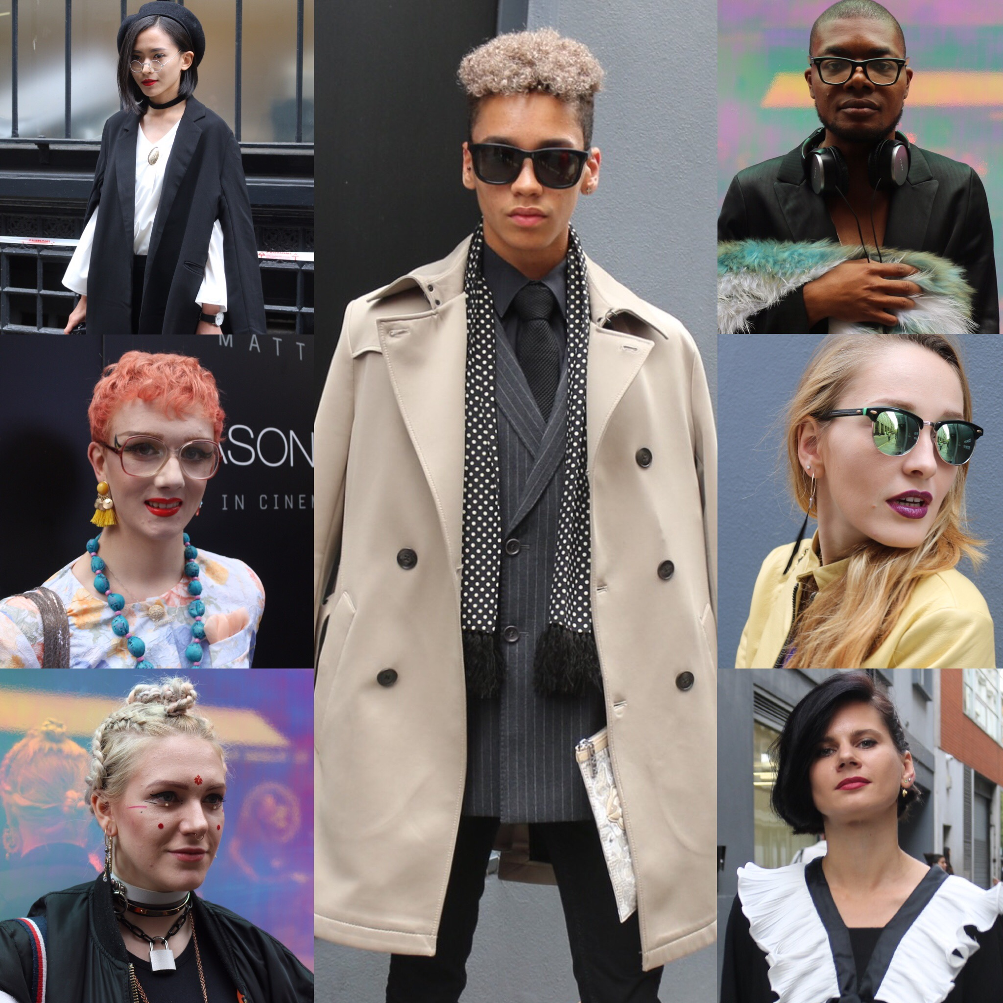 Caught up with some of my favorite street styled during #LFW