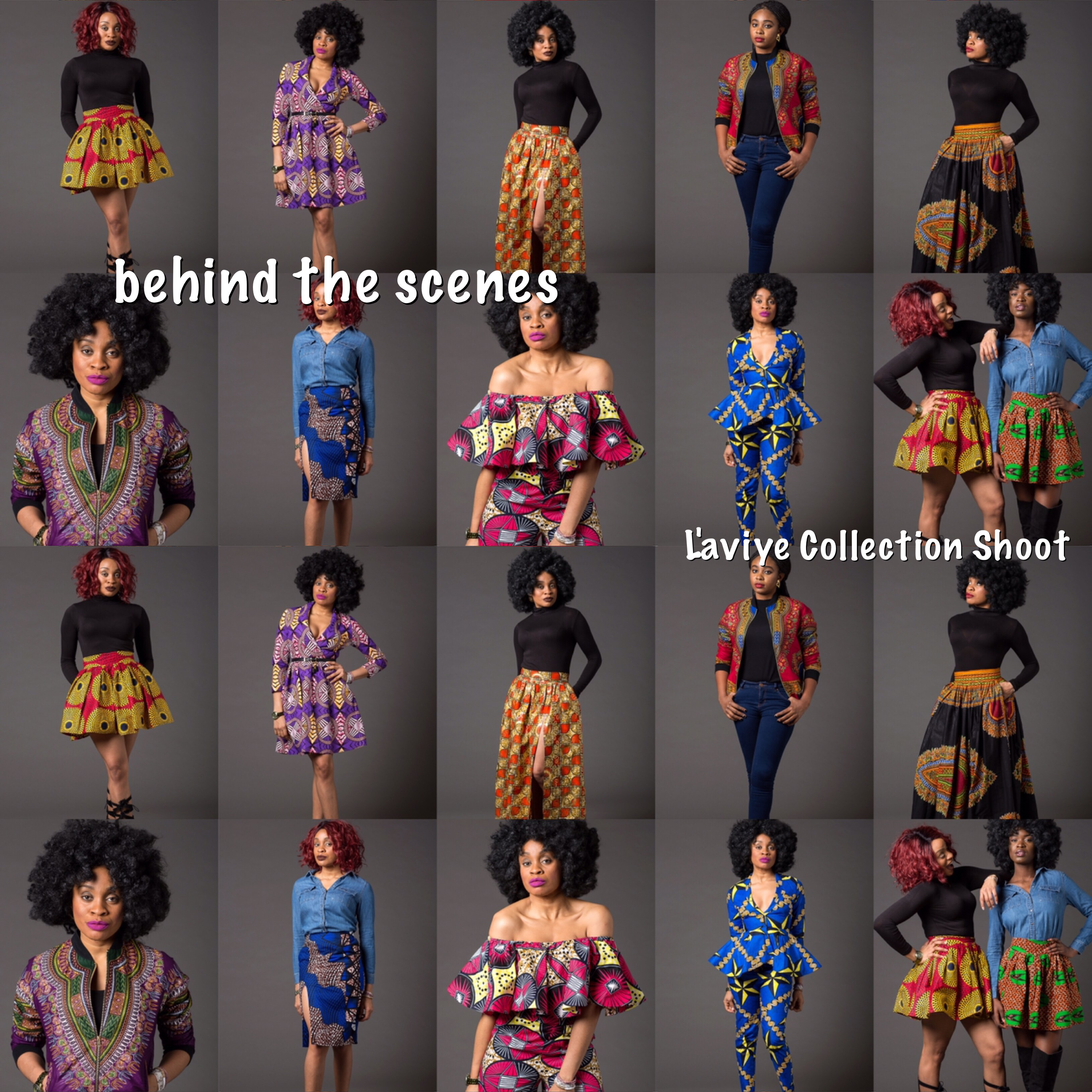 The L'aviye Collection Shoot - #behindTheScenes Video #collectionShots