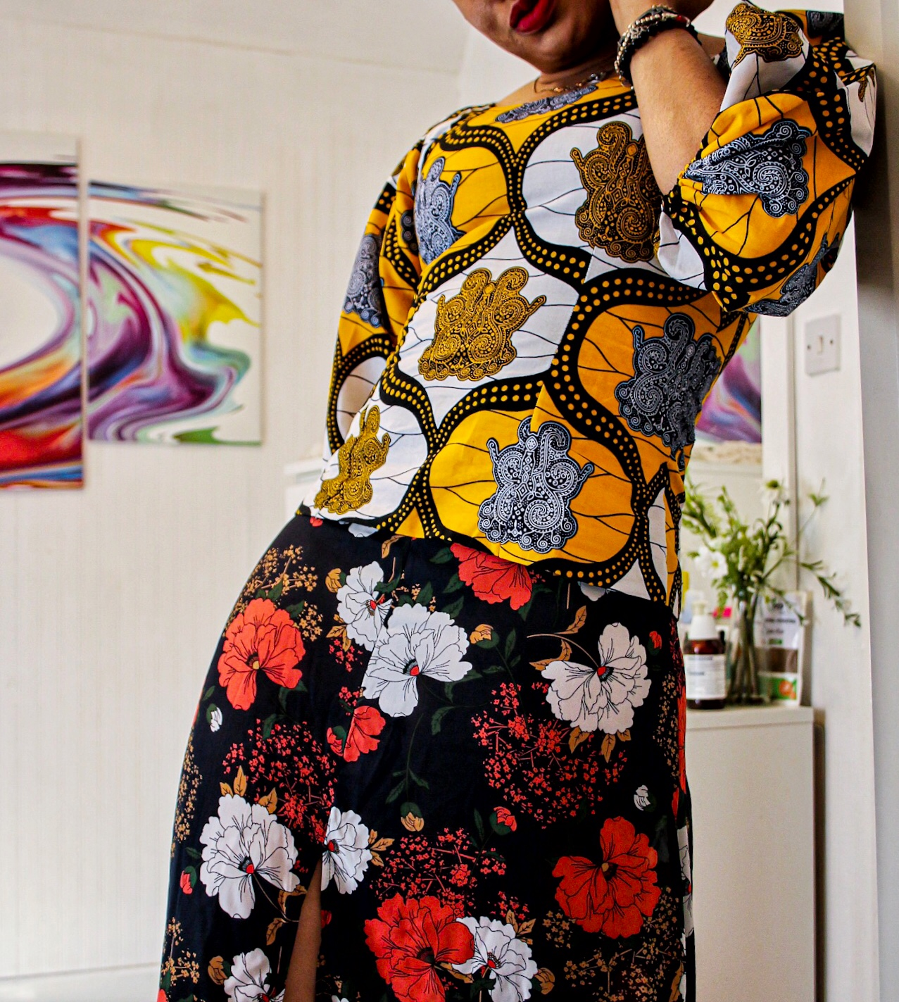 How To Style Ankara Single Pieces ft @springstitches