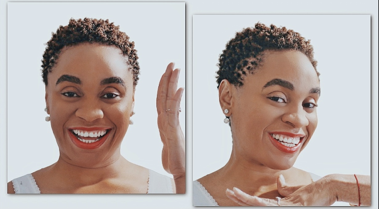 How To Style African Short Hair