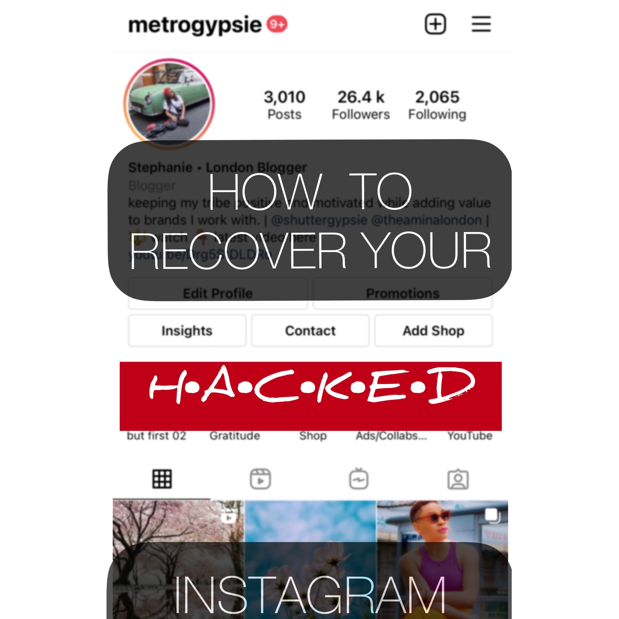 Hacked Instagram Account – How To Recover it FAST in 2021